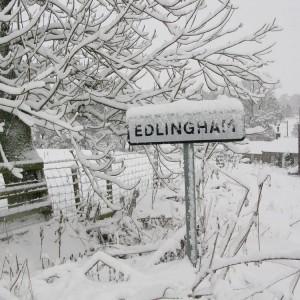 Edlingham-in-snow